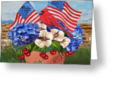 America The Beautiful-jp3210 Greeting Card