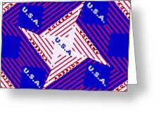 America-usa Greeting Card