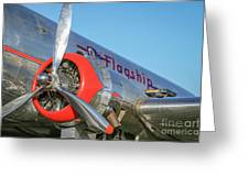 American Airlines Flagship Greeting Card