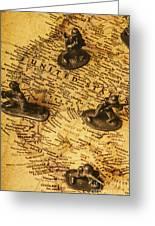American Army  Greeting Card