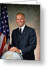 American Astonaut John Glenn Greeting Card