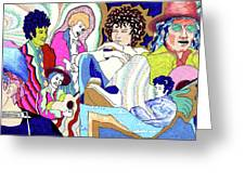 Jelly Roll Bob - Portraits Of Dylan Greeting Card