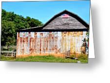 American Barn Greeting Card