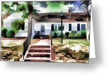 American Beautiful House Greeting Card