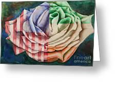 American Beauty Irish Rose Greeting Card
