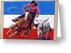 American Cowgirl Greeting Card