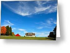 American Dream Home Greeting Card