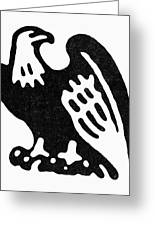 American Eagle, 1854 Greeting Card