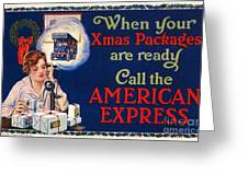 American Express Shipping Greeting Card