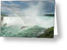 Horseshoe Waterfall At Niagara Falls Greeting Card