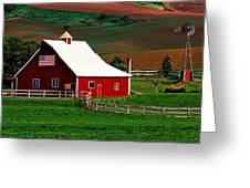 American Farm Greeting Card