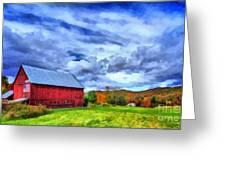 American Farmer Greeting Card