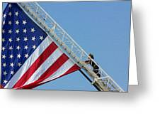 American Firefighter Greeting Card