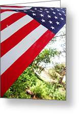 American Flag 1 Greeting Card