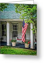American Front Porch Greeting Card