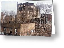 American Ghetto - The South Bronx In New York City Greeting Card