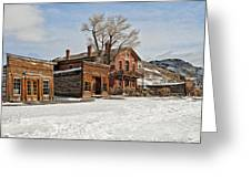 American Ghost Town Greeting Card