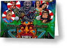 American Horror Story Freak Show Greeting Card
