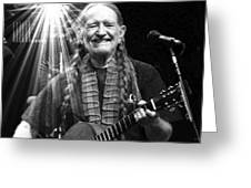 American Icon - Willie Nelson Greeting Card