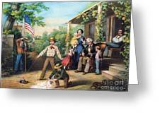 American Independence 1859 Greeting Card