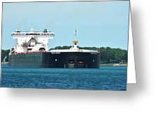 American Integrity Ship Greeting Card