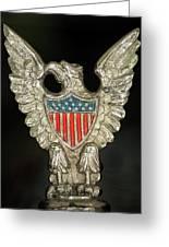 American Metal Eagle Greeting Card