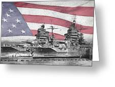 American Naval Power Greeting Card