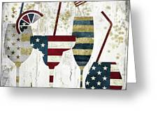 American Party Greeting Card