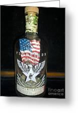 American Pendleton Commemorative Bottle Greeting Card