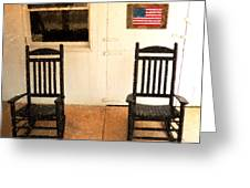 American Porch Greeting Card