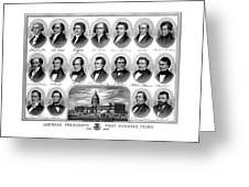 American Presidents First Hundred Years Greeting Card