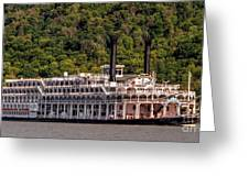 American Queen Riverboat Greeting Card
