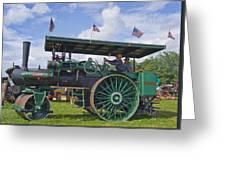 American Steam Roller Greeting Card