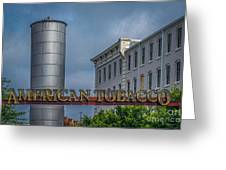 American Tobacco Redevelopment Greeting Card