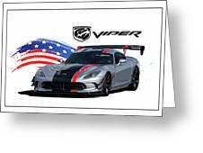 American Venom Greeting Card