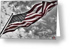 American Wave Sc Greeting Card