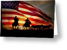 American West Greeting Card