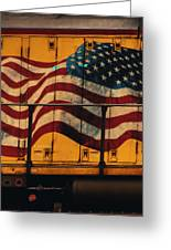 American Workhorse Greeting Card