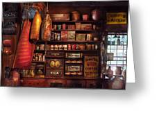 Americana - Store - The Local Grocers  Greeting Card