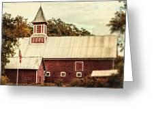 Americana Barn Greeting Card