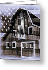 Americana Glory Greeting Card