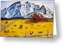 Americana - Plains Of Colorado Greeting Card