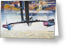 America's Cup 2013 Series IIi Greeting Card