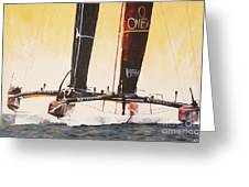 America's Cup 2013 Series V Greeting Card