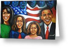 America's First Family Greeting Card