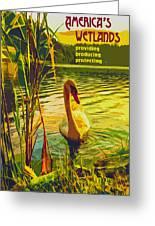 Americas Wetlands Greeting Card
