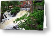 Amesbury Mill Yard Greeting Card