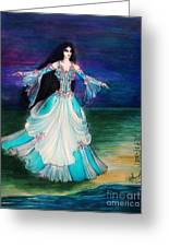 Ameynra. Night Dance Before Wedding Greeting Card