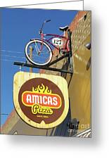 Amicas Pizza Greeting Card