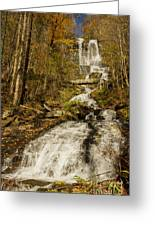 Amicola Falls Gushing Greeting Card